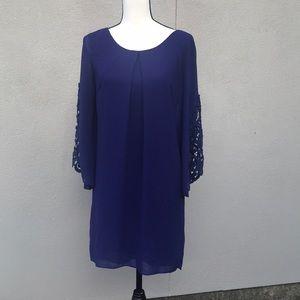 I.N. San Francisco purple dress medium